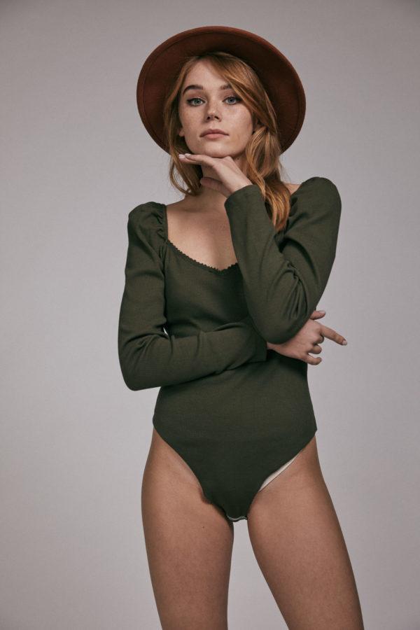 Body Brenna en verde de Maggiesweet