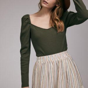 Body y falda Brenna en verde de Maggiesweet