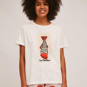 Camiseta sardinas