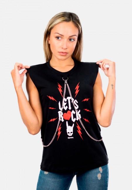 Camiseta Let's Rock de Animosa