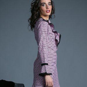 Vestido Jenny rosa cuarzo de Akinolaude