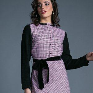 Vestido Jeny rosa cuarzo de Akinolaude