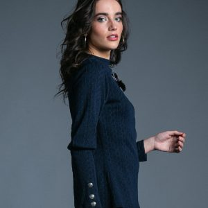 Sweater Serena marino de Akinolaude