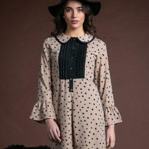 Vestido Blair topo negro de Akinolaude