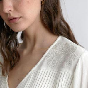 Blusa blanca Sina de Nüd