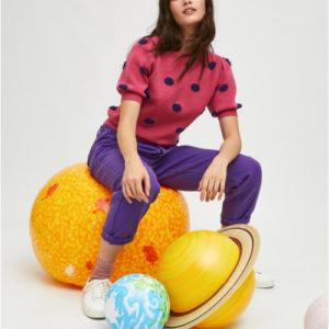 Jersey de lunares rosa de Compañia Fantastica