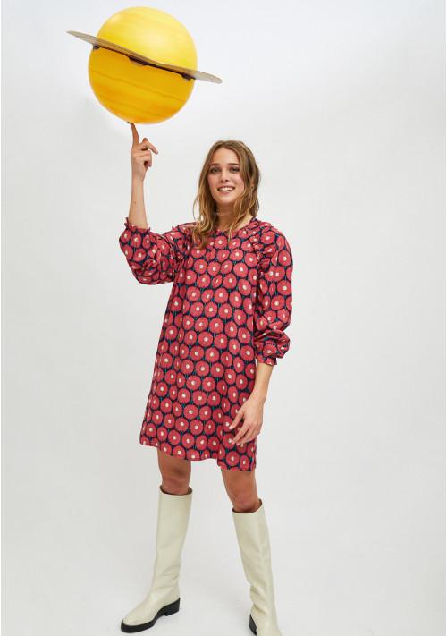 Vestido corto calendulas de Compañia Fantastica